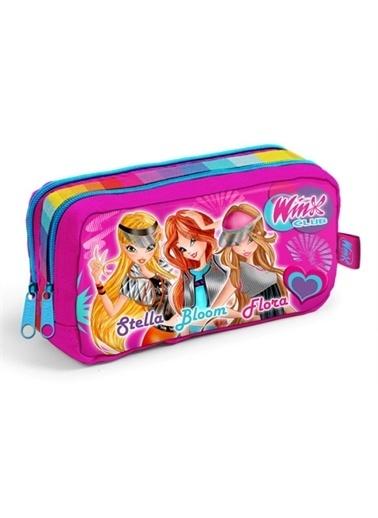 Winx Winx Lisanslı Kız Çocuk İlkokul Kalemlik (Yaygan 62126) Renkli